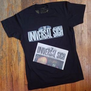 """VERY RARE Radiohead """"Universal Sigh"""" Tee & Promo"""